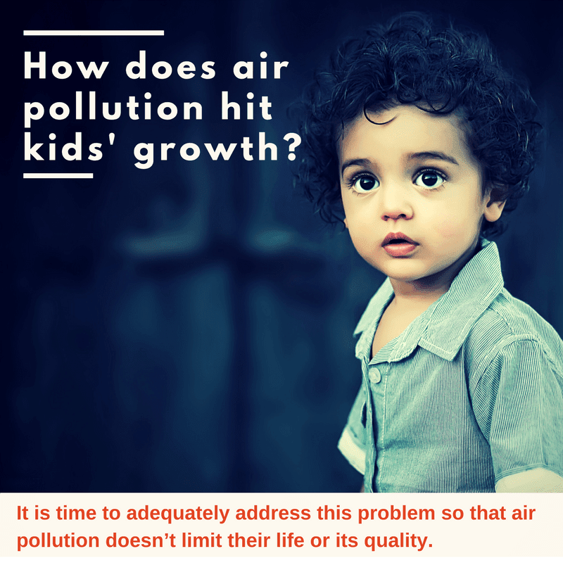 How does air pollution hit kids' growth?